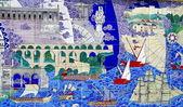 Turecko umění zdi — Stock fotografie