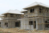 New house under construct — Stock Photo