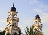 Two mosque tower , Thailand — Stock Photo