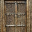Vintage wood door  — Stock Photo