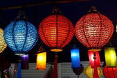 Colorful lantern — Stock Photo