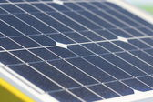 Close up solar cell, renewable energy — Foto Stock