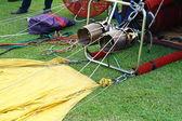 Set up balloon on ground — Стоковое фото