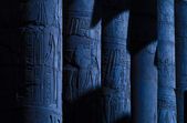 Egypt Luxor columns — Stock Photo