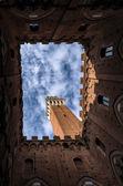 Siena. Italy — Stock Photo