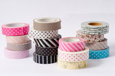 Washi tape roll, masking tape — Stock Photo
