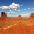 The unique landscape of Monument Valley, Utah, USA — Stock Photo