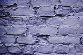 Colorfully painted stone wall — Stock Photo