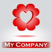 Logo for company — Stock Vector