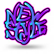 New style graffiti — Stock Vector