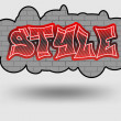 Style graffiti — Stock Vector