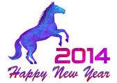 2014 year of a horse — Photo