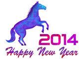 Anno 2014 di un cavallo — Foto Stock