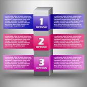 Creative vector infographics — ストックベクタ