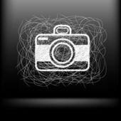 素描相机 — 图库矢量图片