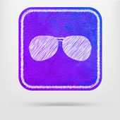 Sunglasses  icon — Stock Vector