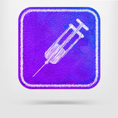 Syringe icon — Stock Vector
