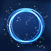 Cosmo light round vector — Stock Vector
