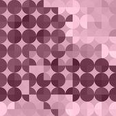 Round rose wallpaper — Stock Vector