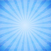Abstract rays on blue background. — Vettoriale Stock