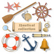 Nautical collection 3 — Imagen vectorial