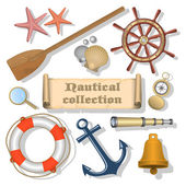 Nautical collection 3 — Stock Vector