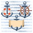 Nautical collection 5 — Stock Vector #35446947