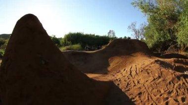 BMX Bike 360 — Stock Video