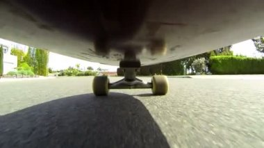 POV Skateboard HD — Stock Video