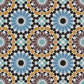 Fez Seamless Pattern — Stock Vector