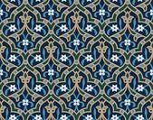 Ahiar Seamless Arab Pattern — Stock Vector