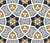 Nurabad Seamless Pattern — Stock Vector