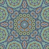 Tetuan Moorish Seamless Pattern Two — Stock Vector