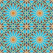 Arihah Seamless Pattern Six — Stock Vector