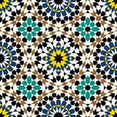 Douma Seamless Pattern Seven — Stock Vector