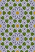Abadan naadloze patroon vijf — Stockvector