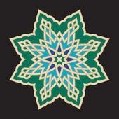 Bonab arabische sieraad twee — Stockvector