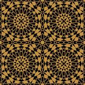 Moorish Fez Seamless Pattern — Stock Vector