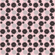 Stock Photo: Flowers repeat pattern