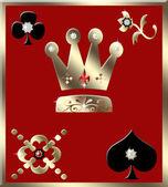 Gambling background — Stock Photo