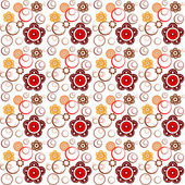 Floral seamless pattern — Foto Stock