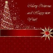 Feliz natal e feliz ano novo — Foto Stock