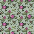 Vintage rose pattern — Stock Photo