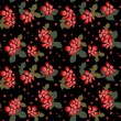 Seamless floral pattern with hibiscus — Stock Photo