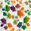Стоковое фото: Seamless pattern background with leaves