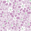 Stock Photo: Abstract seamless floral pattern