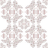 Abstract seamless floral pattern — Stock Photo