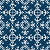 Seamless floral pattern — Photo