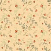 Seamless pattern with roses — Stock Photo