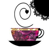 Cap of coffee — Stock Photo
